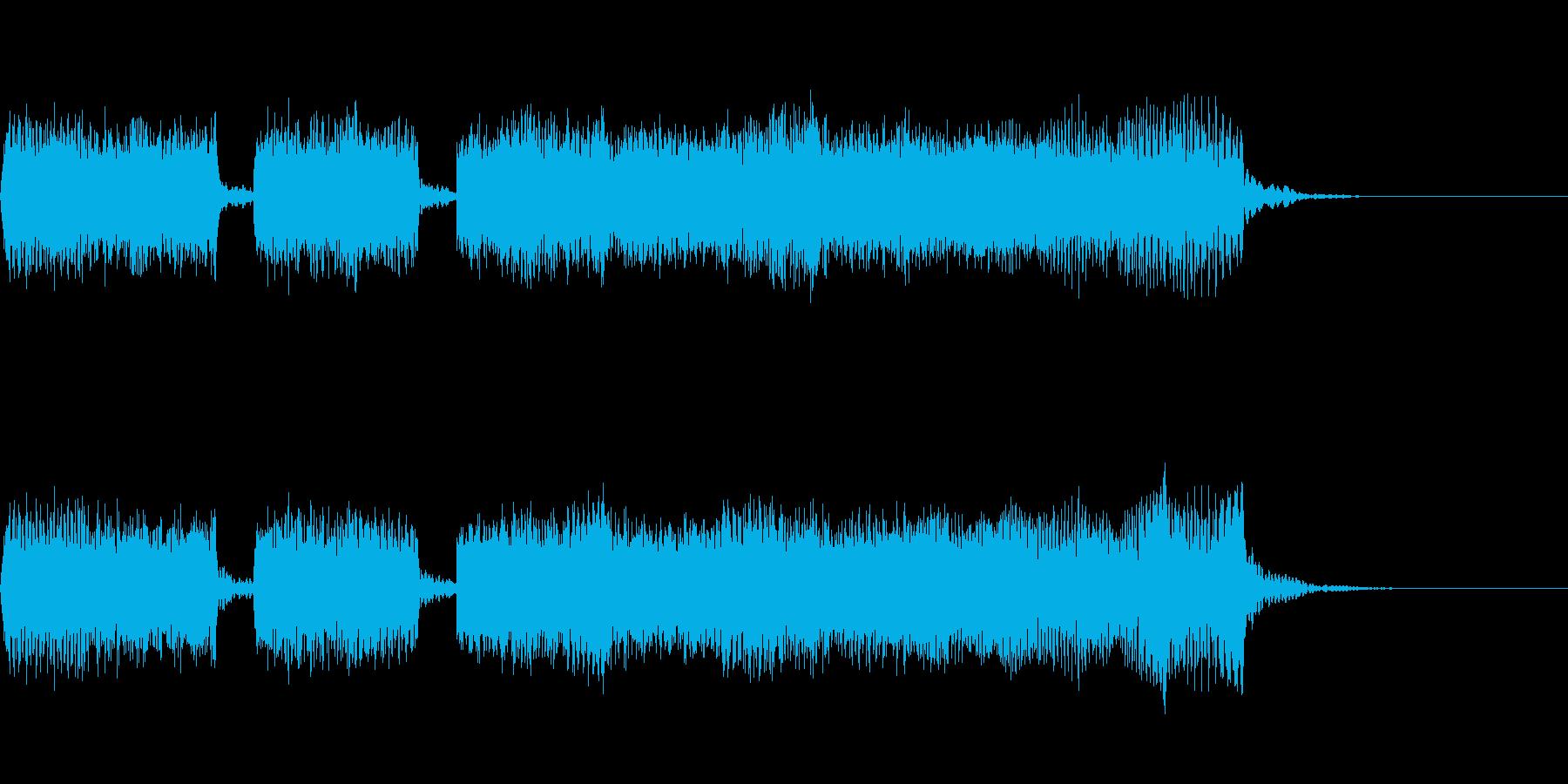 Guitarジングル9/メタル系リフの再生済みの波形