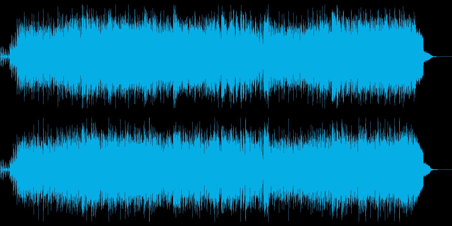 ラテン楽器が賑やかな、爽やかポップスの再生済みの波形