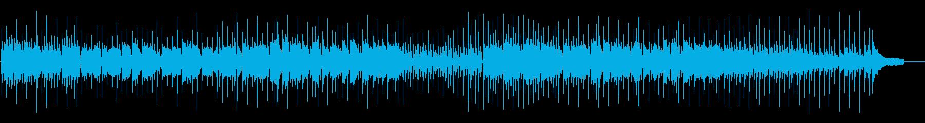 オープニングに最適な明るいウクレレポップの再生済みの波形