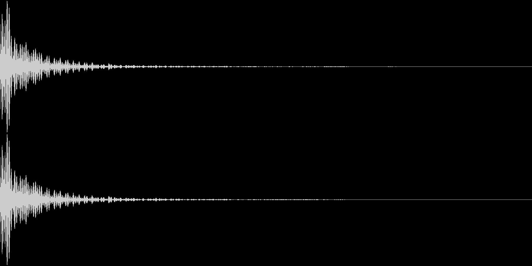 DTM Tom 18 オリジナル音源の未再生の波形