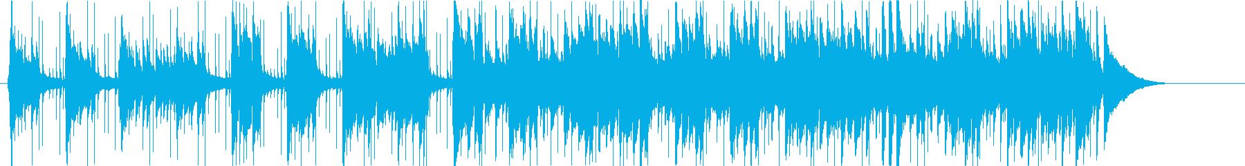 ゆったりとしたさわやかギターポップの再生済みの波形