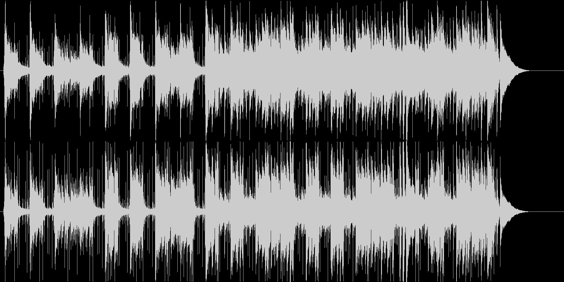 ゆったりとしたさわやかギターポップの未再生の波形