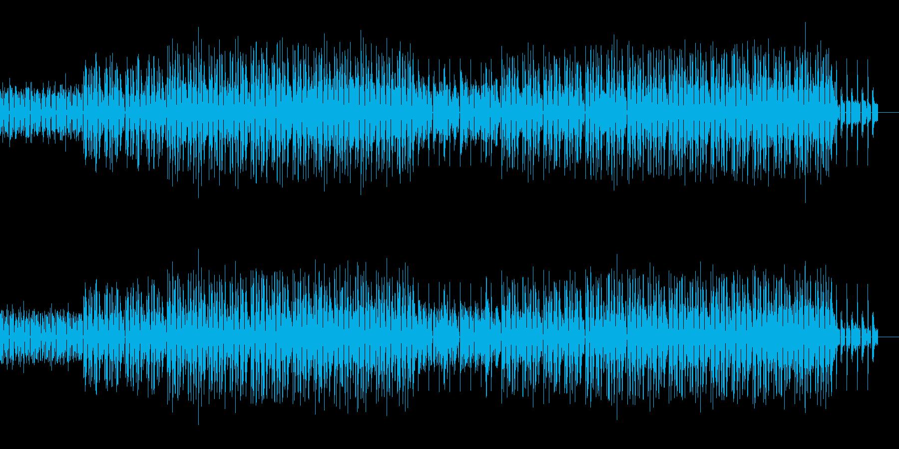 かわいい、ゆるい、コミカル-04の再生済みの波形
