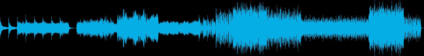 アクション映画のオープニング曲をイメー…の再生済みの波形