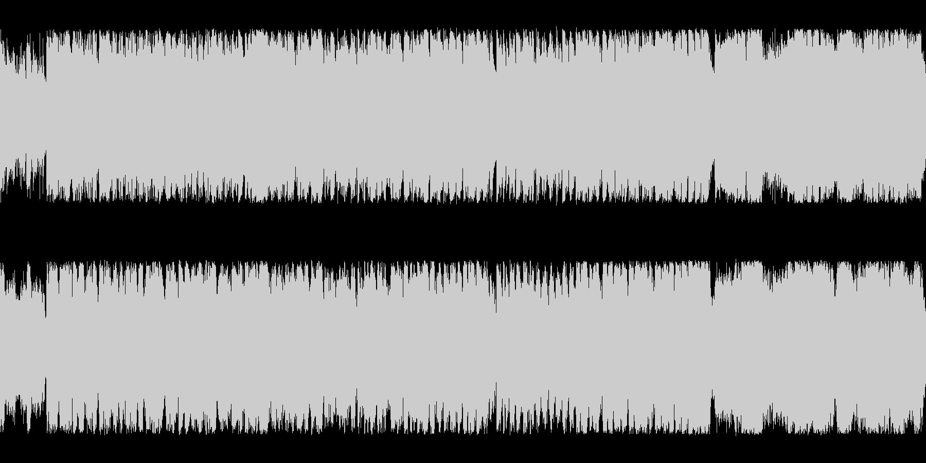 【壮大でかわいい】ファンファーレBGMの未再生の波形