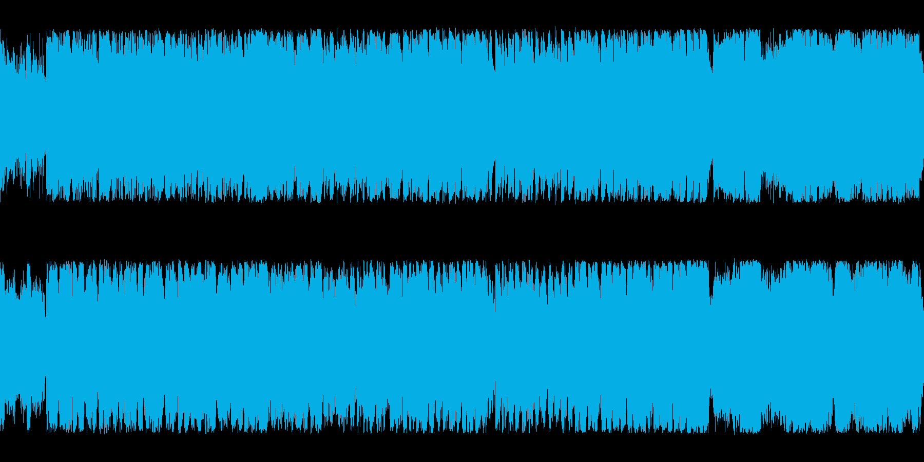 【壮大でかわいい】ファンファーレBGMの再生済みの波形