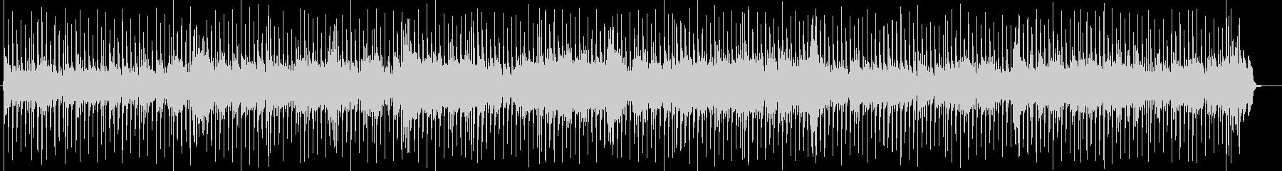 可愛いカントリーミュージックBGMの未再生の波形
