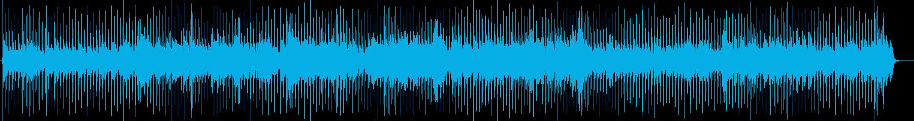 可愛いカントリーミュージックBGMの再生済みの波形