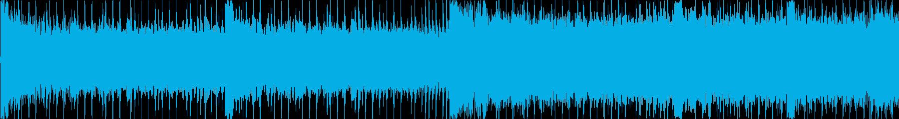 疾走感のあるロックなループ曲ですの再生済みの波形