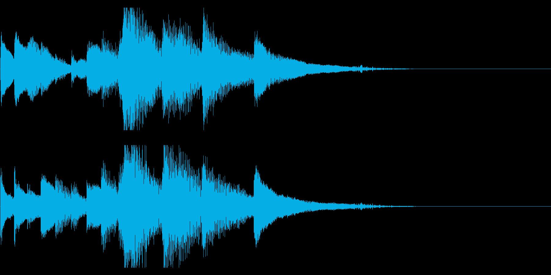 10秒で頭の片隅に残るピアノソロ。の再生済みの波形