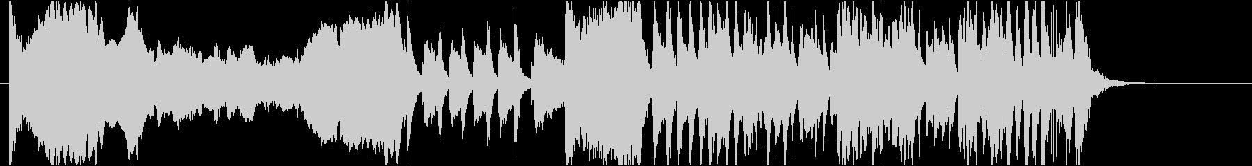 コミカルBGM ガガーンと落ち込む時の未再生の波形
