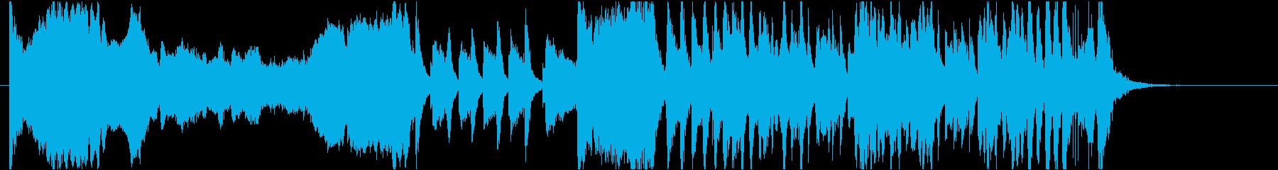 コミカルBGM ガガーンと落ち込む時の再生済みの波形