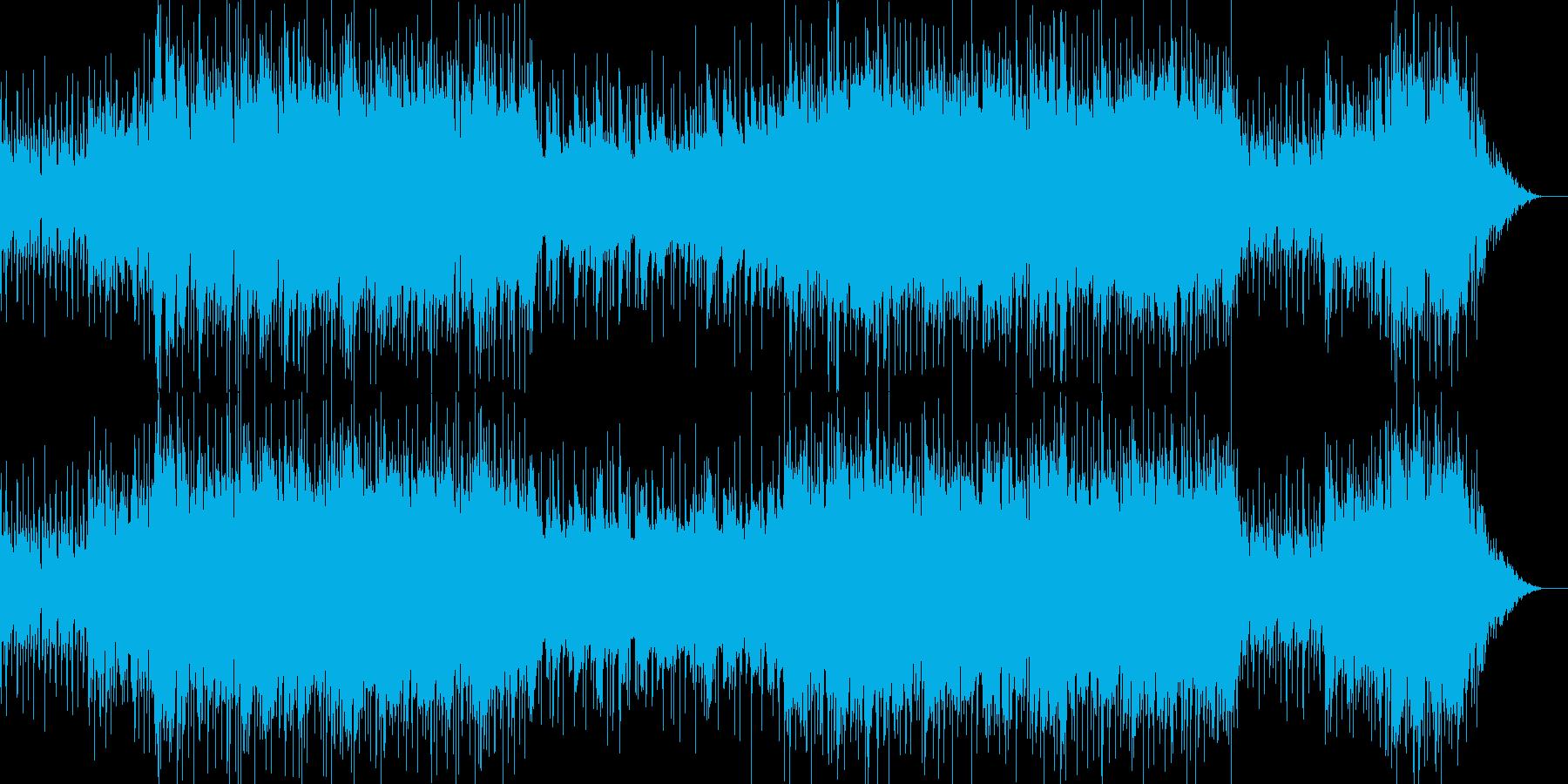 戦闘用のBGMです。ループを意識した作…の再生済みの波形