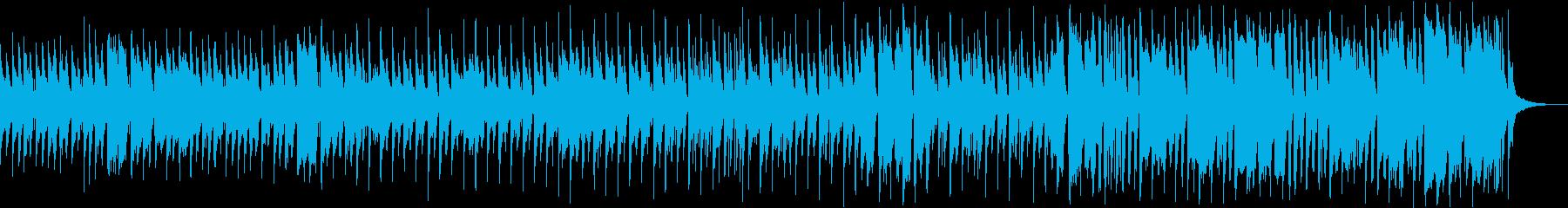 楽しさ、明るさ全開のショートBGMの再生済みの波形