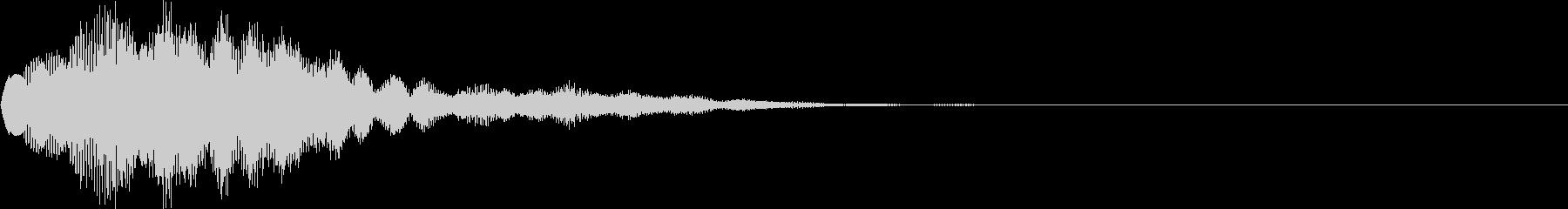 サウンドロゴ44_ベル系の未再生の波形