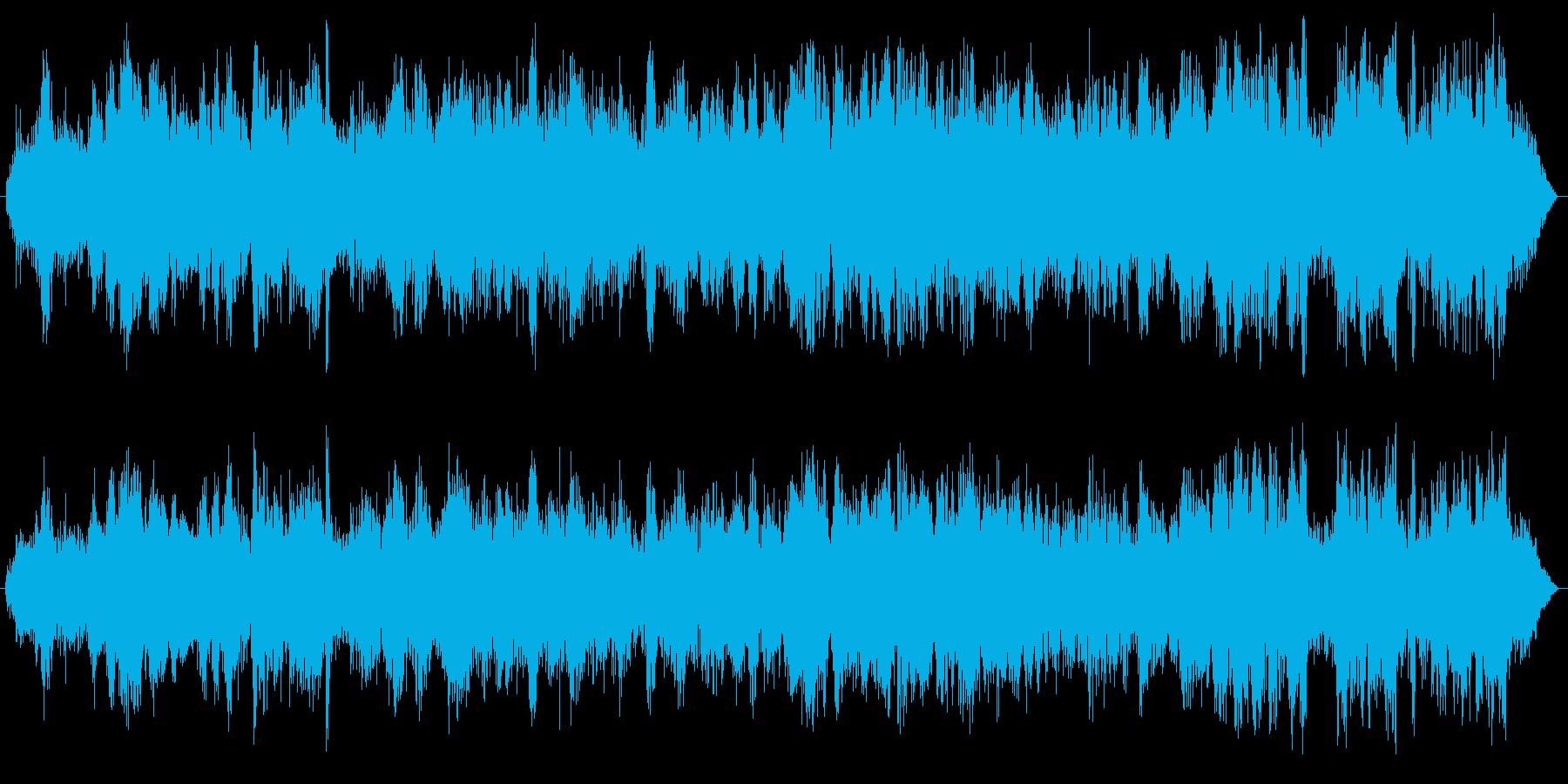飲食店内(にぎやかな店内の効果音)の再生済みの波形