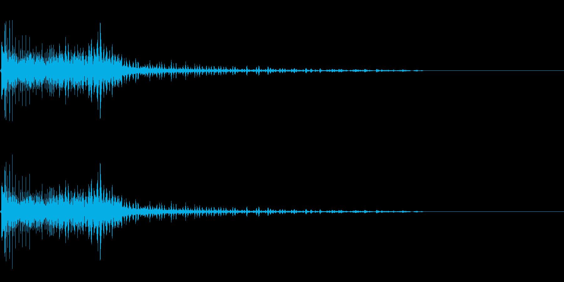 擬音【どくぅ〜ん】【エンコード192k…の再生済みの波形