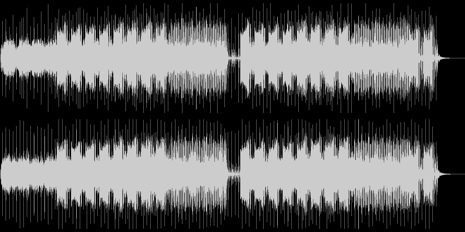 SF系宇宙感のあるシンセサイザーサウンドの未再生の波形