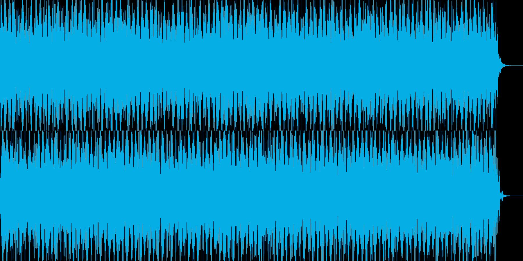謎、疑念をイメージするショートサウドの再生済みの波形