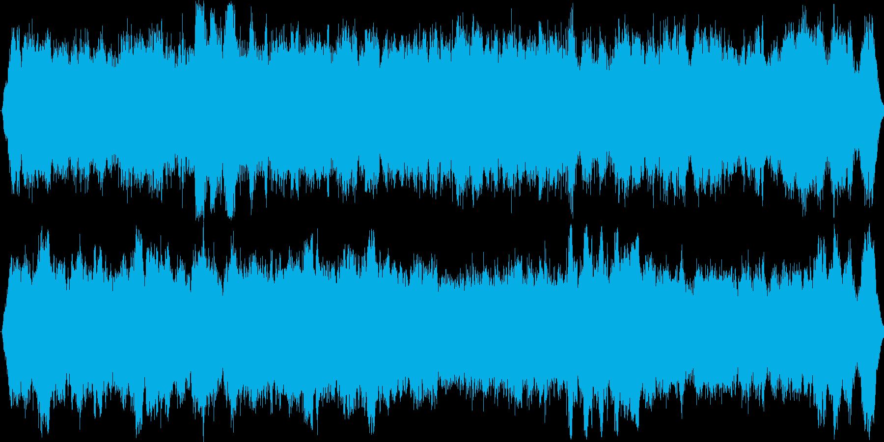 パイプオルガンオリジナル讃美歌の再生済みの波形