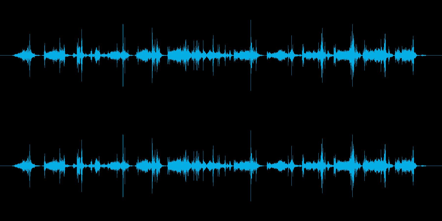 【本03-4(めくる)】の再生済みの波形