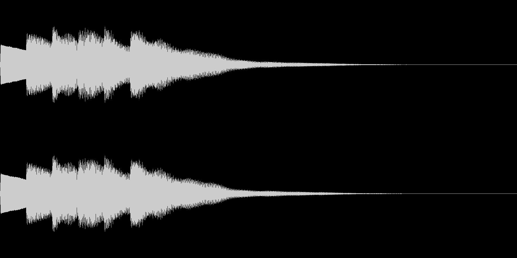 【正解01-3】の未再生の波形
