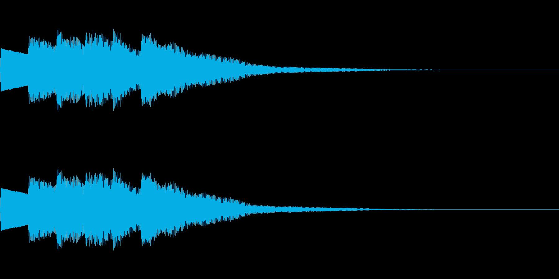 【正解01-3】の再生済みの波形