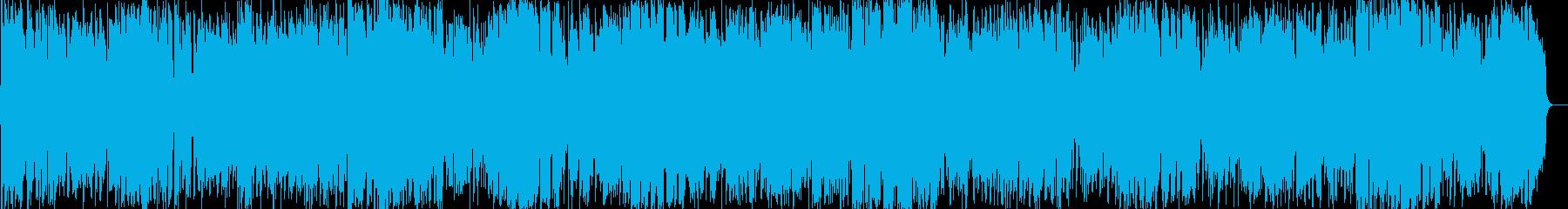 テナーサックスによるアダルトフュージョンの再生済みの波形
