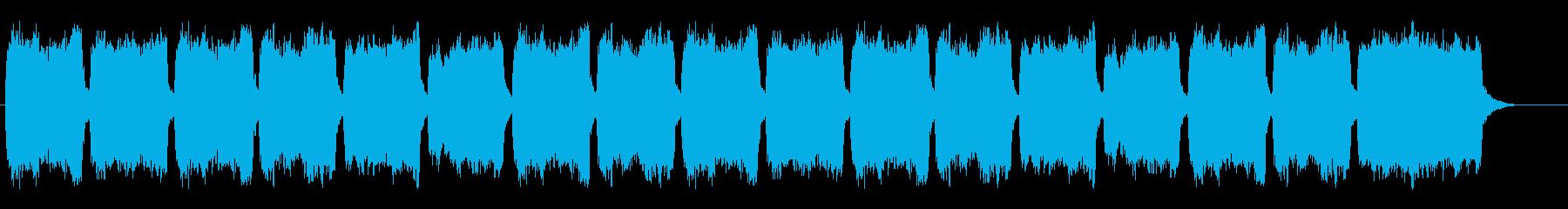 合唱とオルガン、賛美歌312番、結婚式にの再生済みの波形