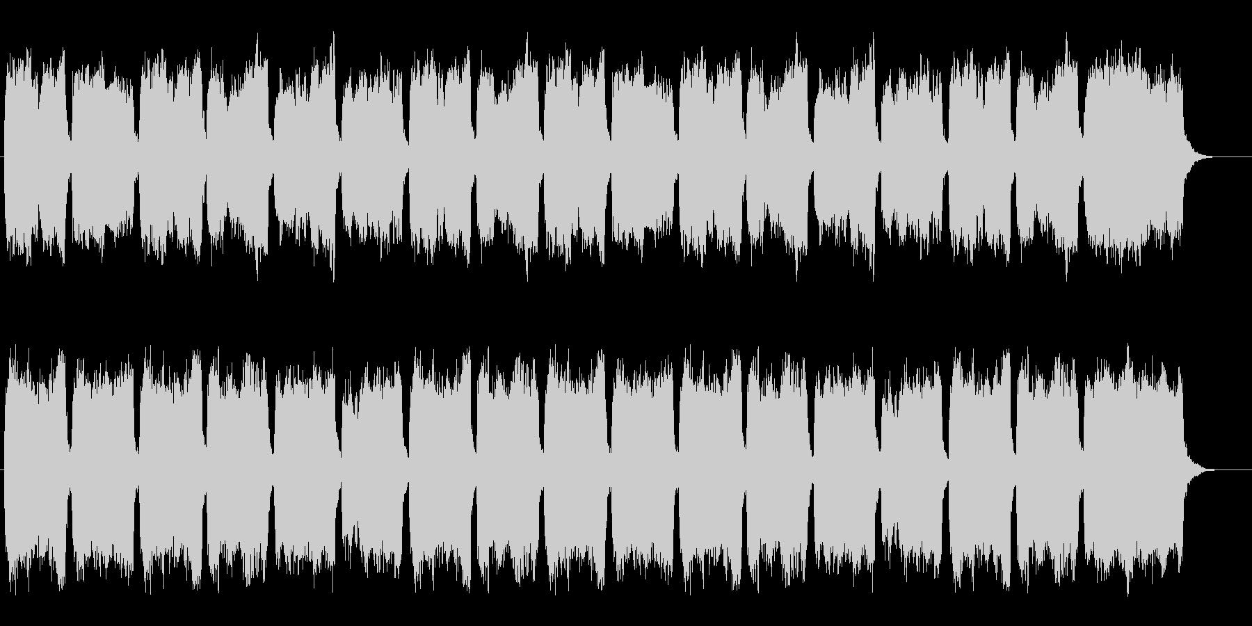 合唱とオルガン、賛美歌312番、結婚式にの未再生の波形