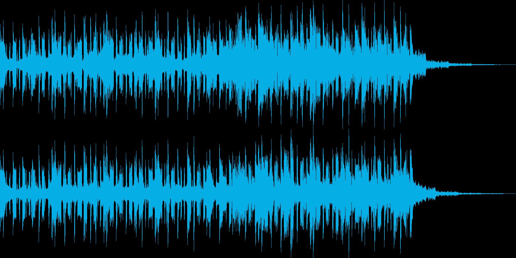 軽快な近未来/BGMの再生済みの波形