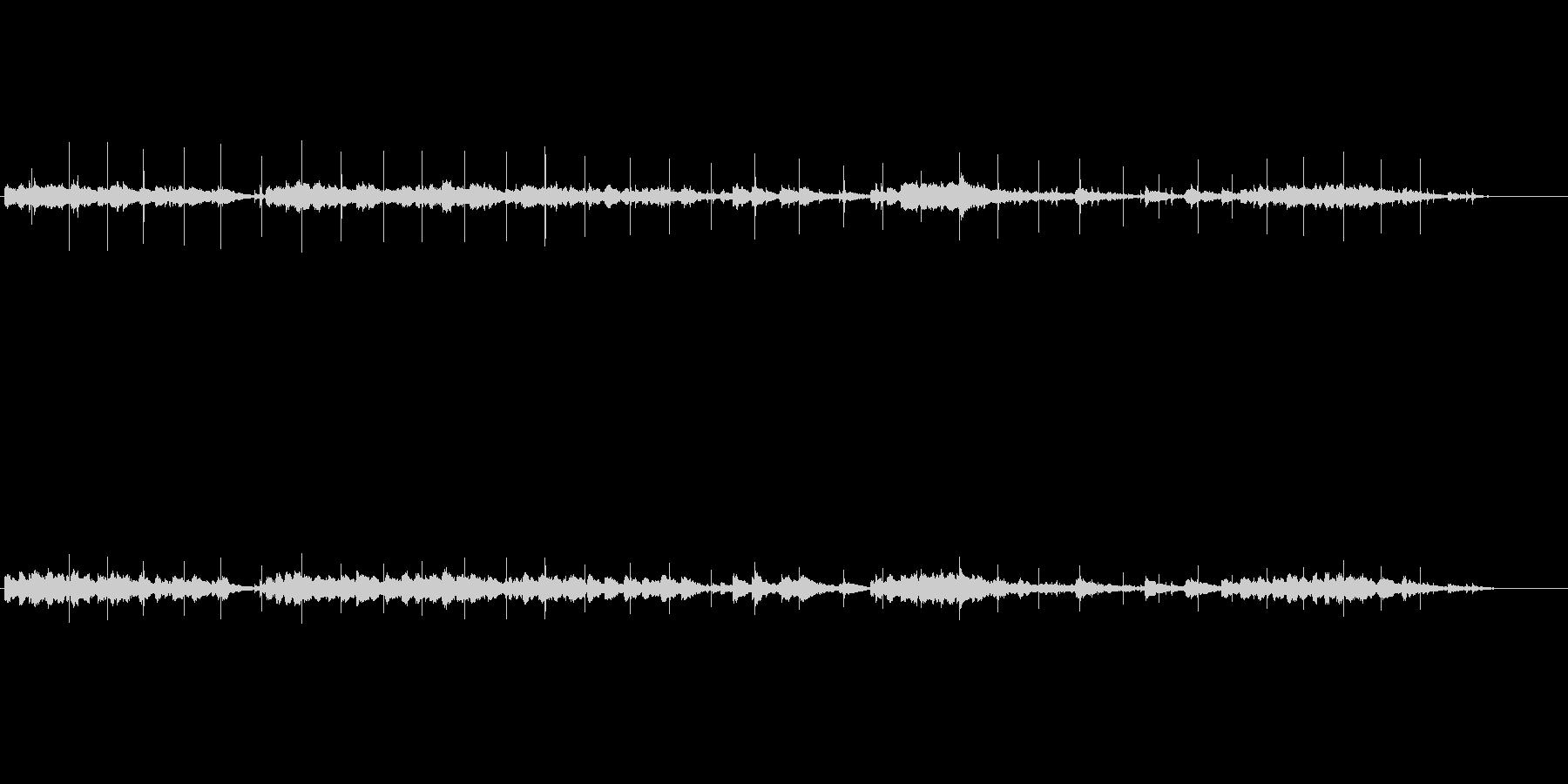 サスペンス調(忍び寄る影)の未再生の波形