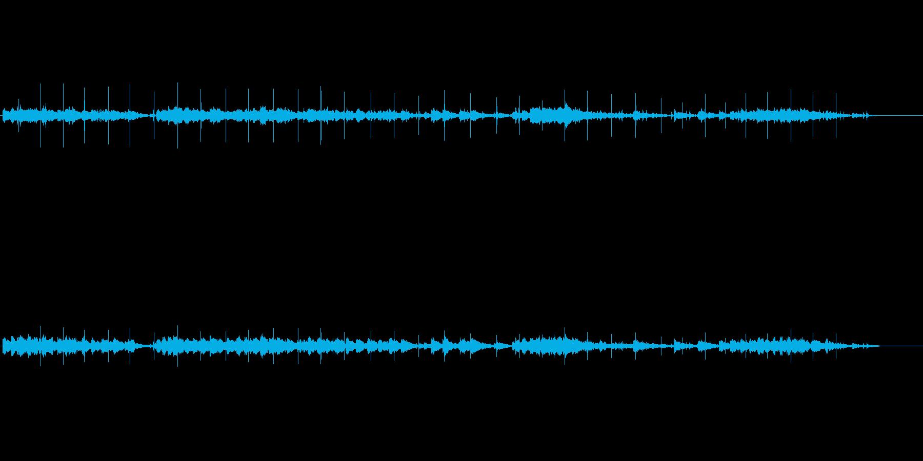 サスペンス調(忍び寄る影)の再生済みの波形
