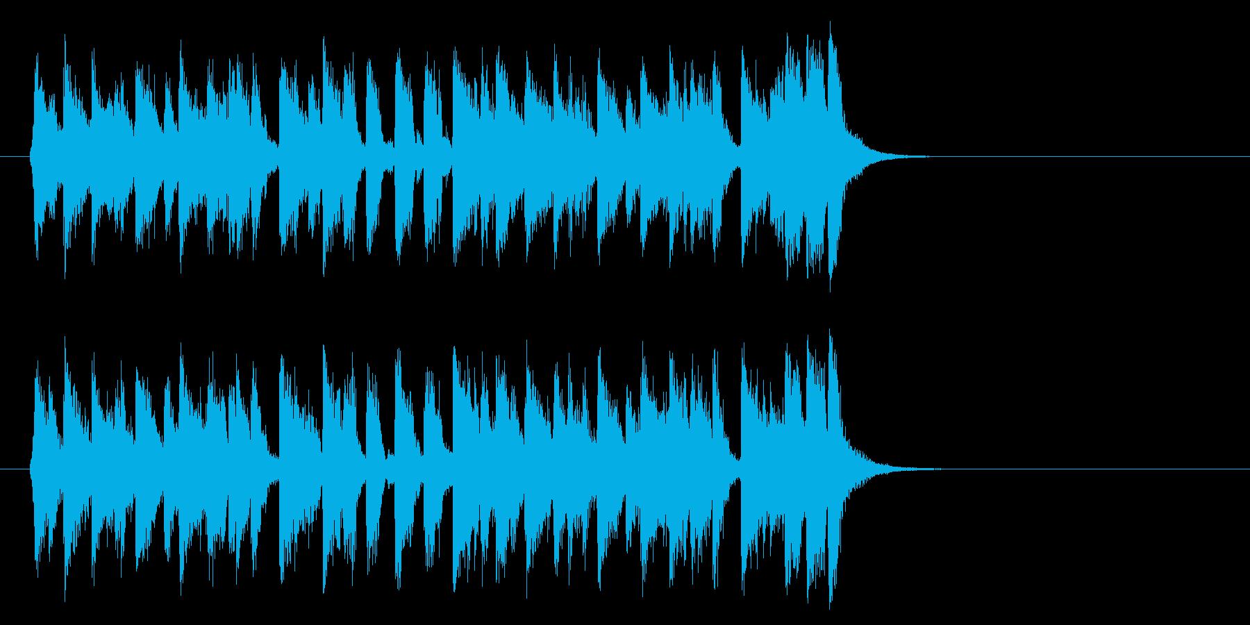 夏のフュージョンポップ(Aメロ)の再生済みの波形