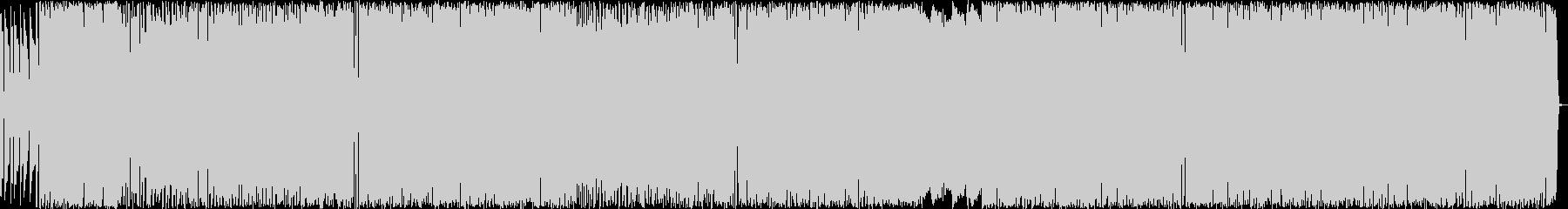 エッジの効いたROCK 生演奏の未再生の波形