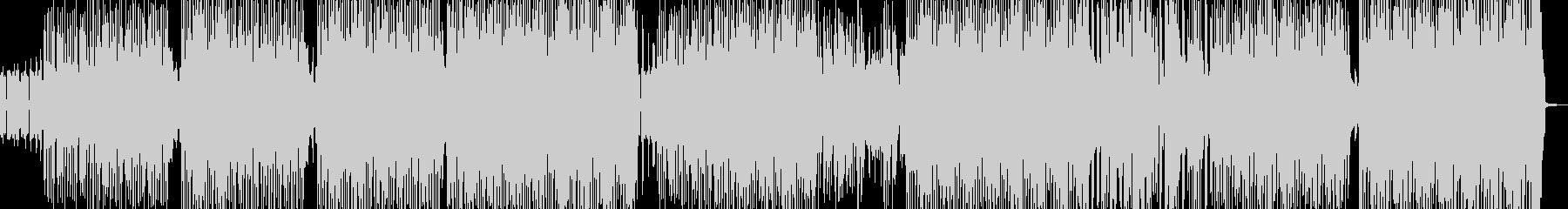マッスルな音作りのダブ系ヒップホップの未再生の波形
