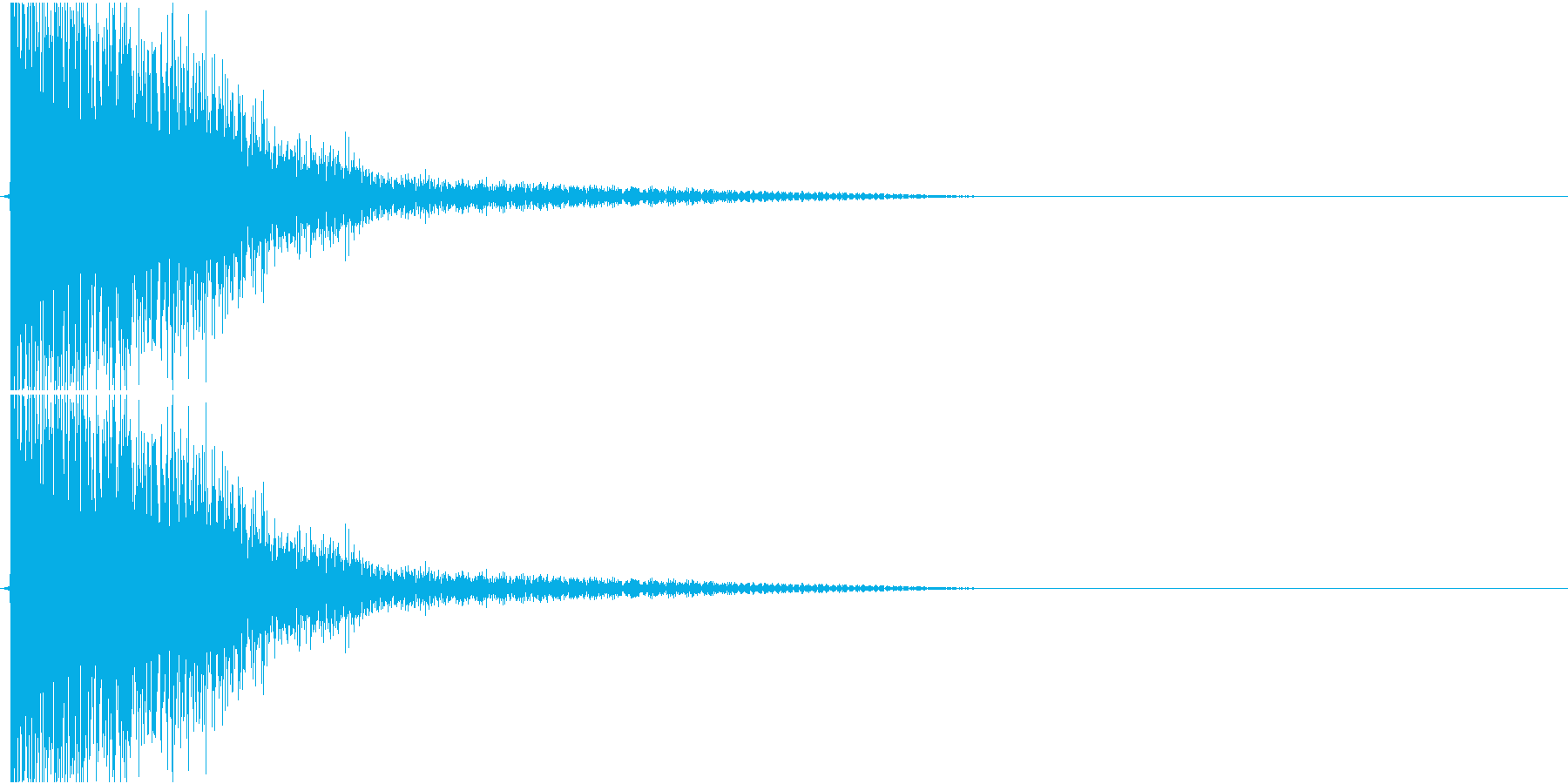 Katana 日本刀のしなやかな斬撃音の再生済みの波形