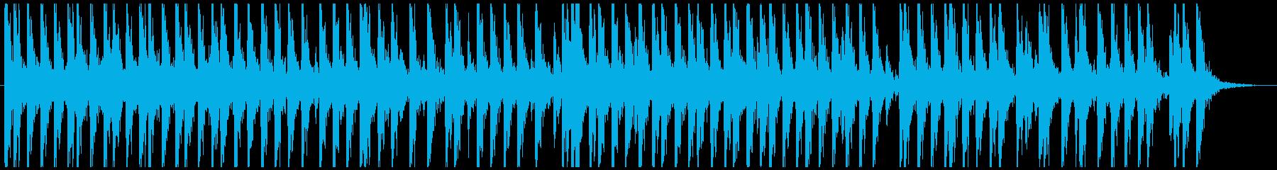 相撲の寄せ太鼓風SE その3の再生済みの波形
