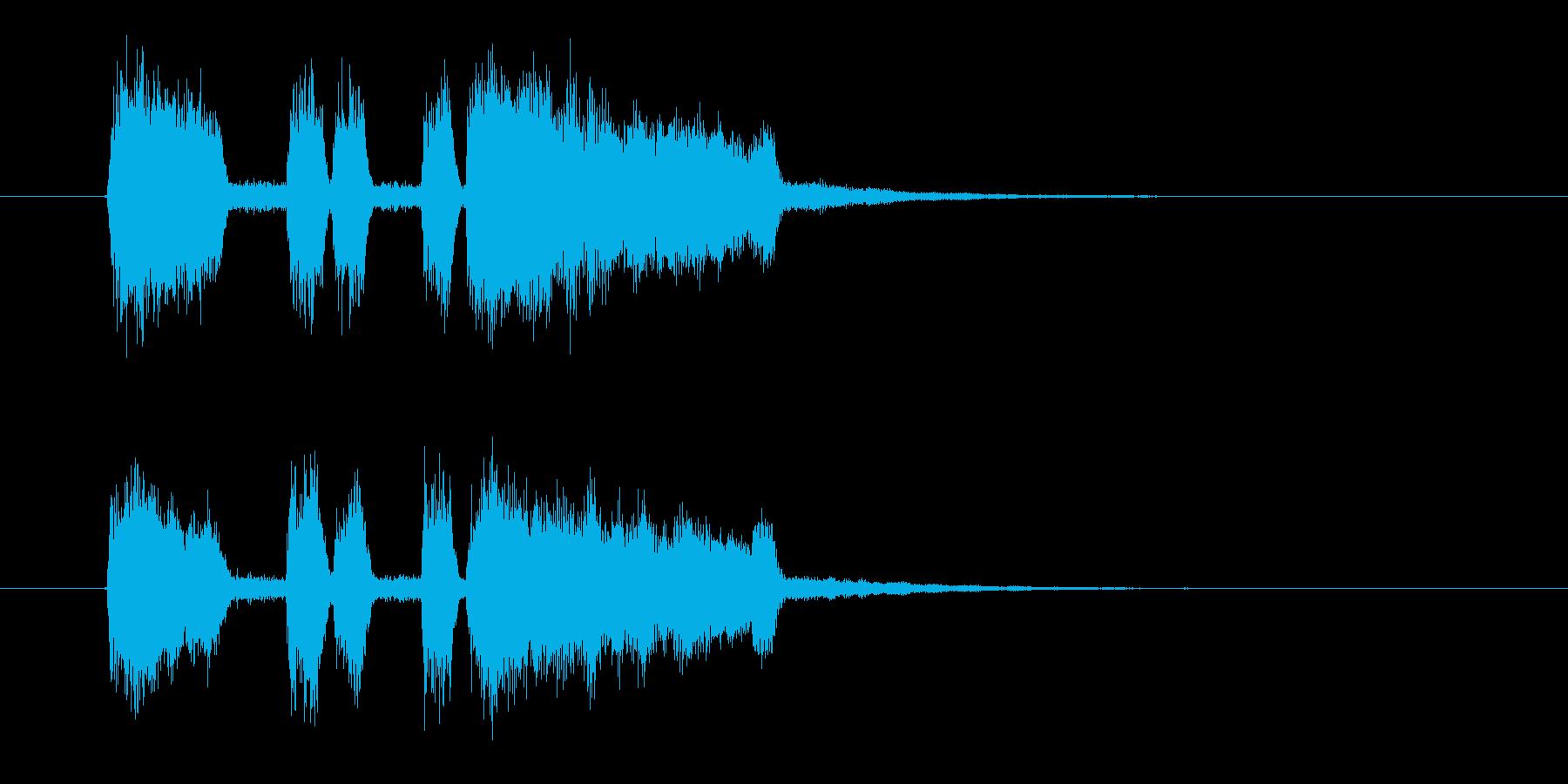 パーパパッパパー(ファンファーレ)の再生済みの波形
