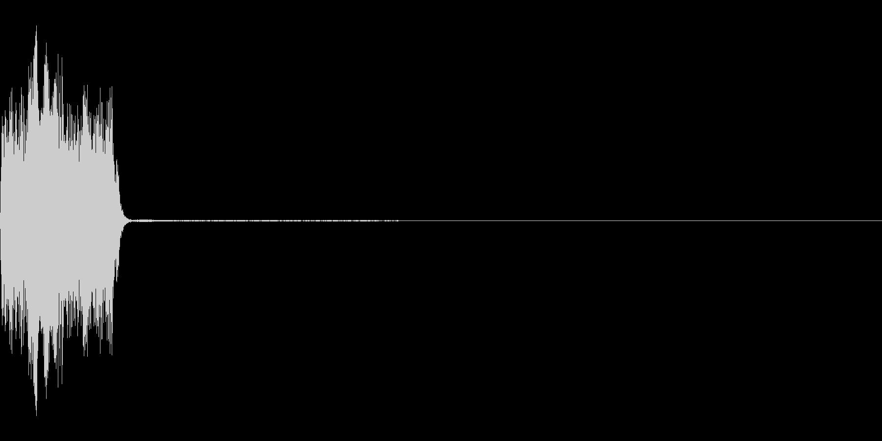 コックピットなどの細かい電子音_05の未再生の波形