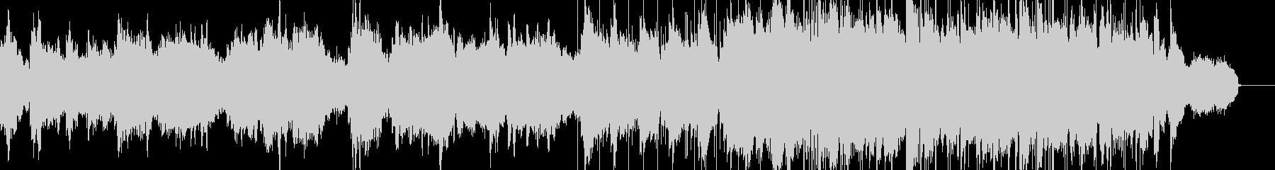 サックスによるしっとり切ないバラードの未再生の波形