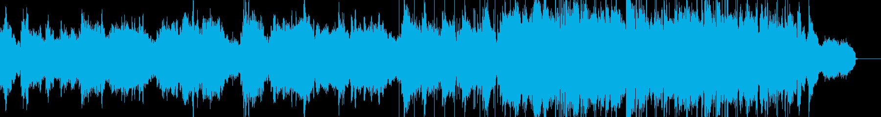 サックスによるしっとり切ないバラードの再生済みの波形