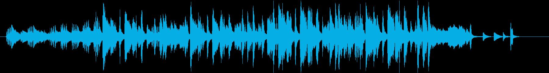 メンデルスゾーン結婚行進曲ジャズアレンジの再生済みの波形