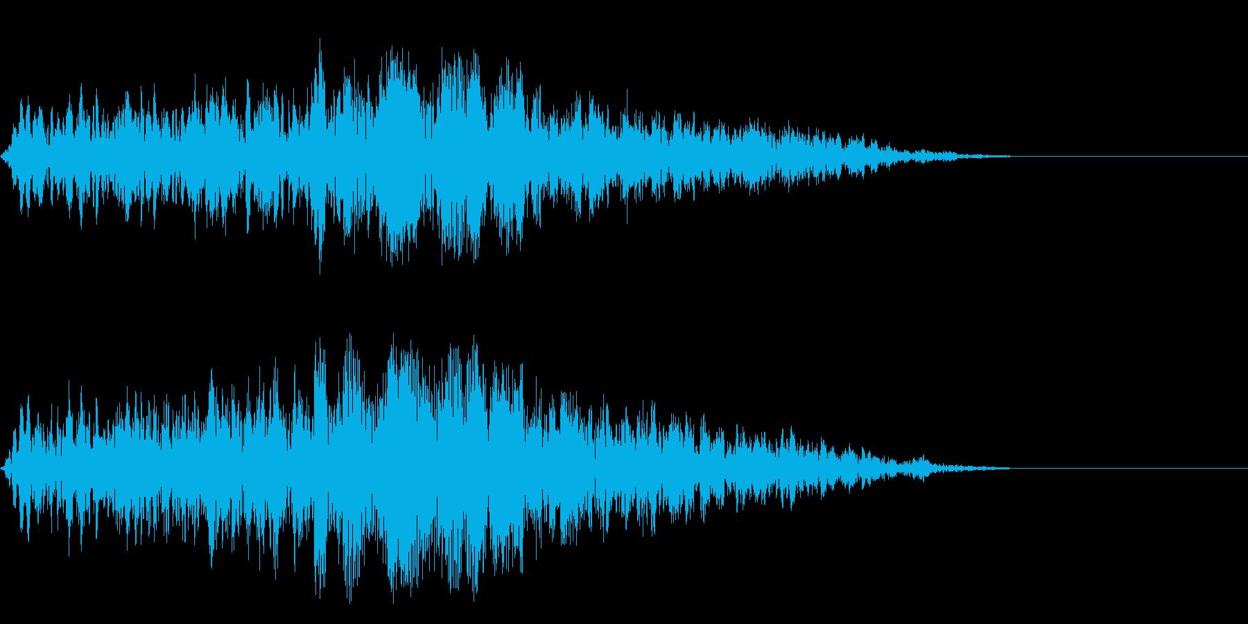 クホォーーーー(ブレス)の再生済みの波形