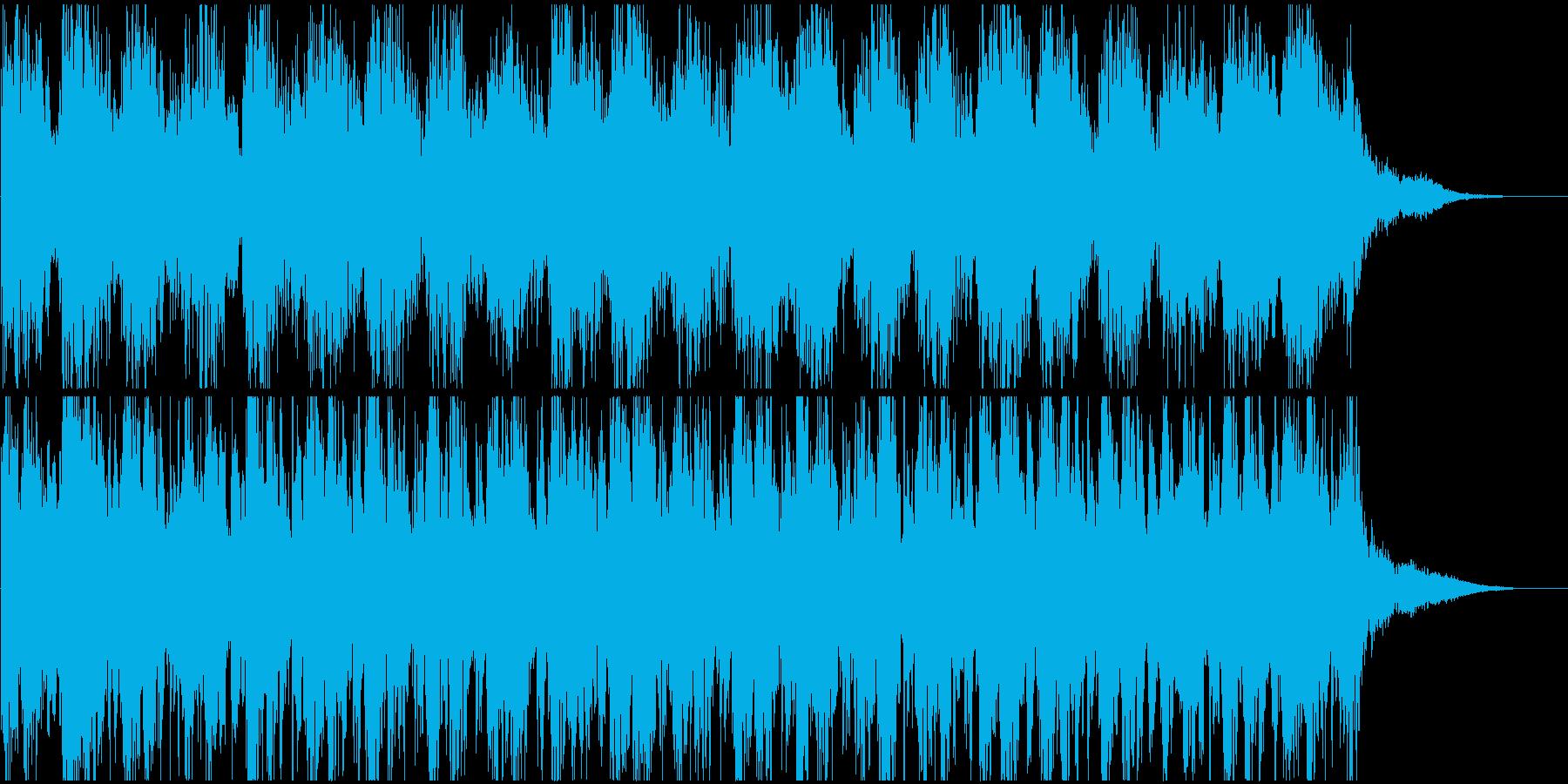 スリル、緊張感 -打楽器中心-の再生済みの波形