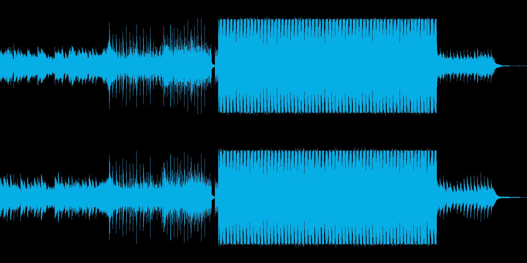 緩やかでまろやかなシンセポップサウンドの再生済みの波形
