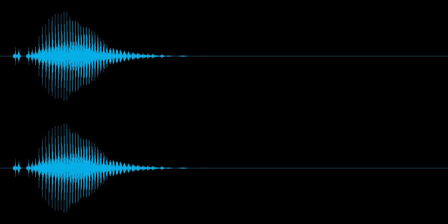 南(ナン) [麻雀]の再生済みの波形