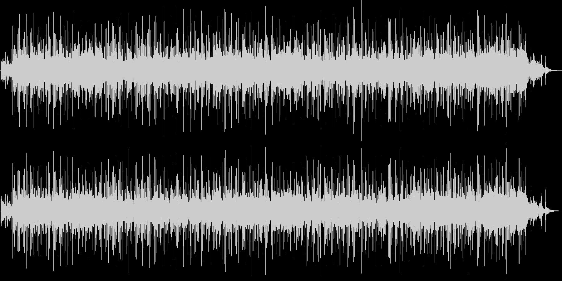 エンディングに使いたい和風ロックバラードの未再生の波形