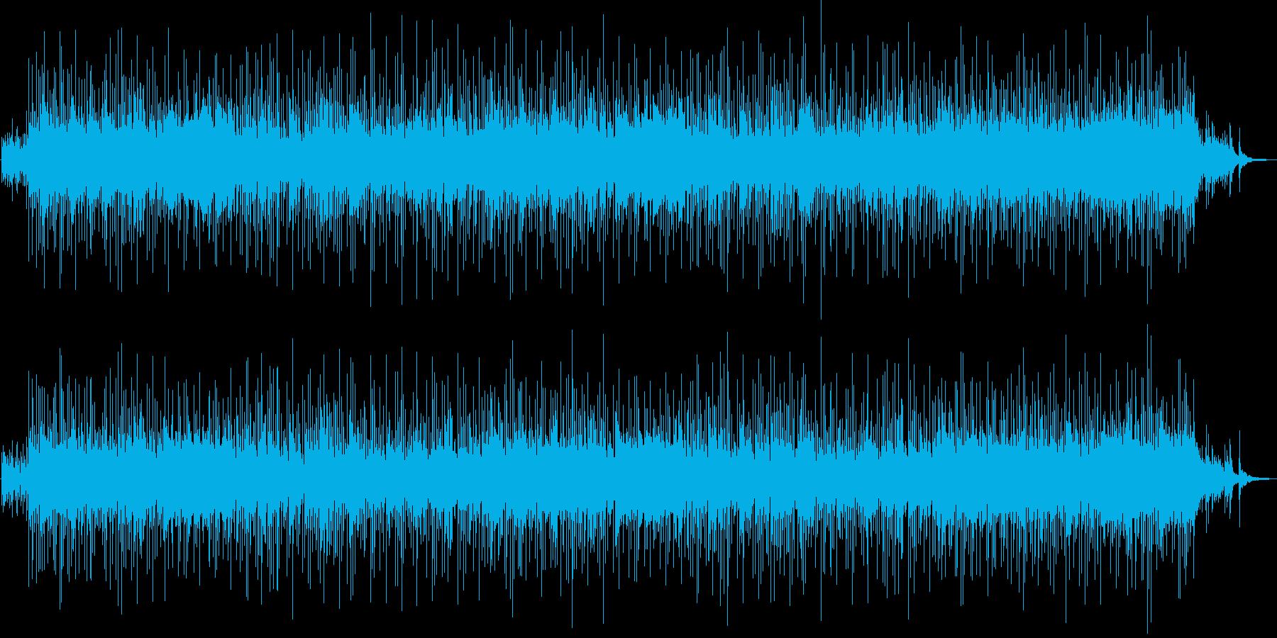 エンディングに使いたい和風ロックバラードの再生済みの波形