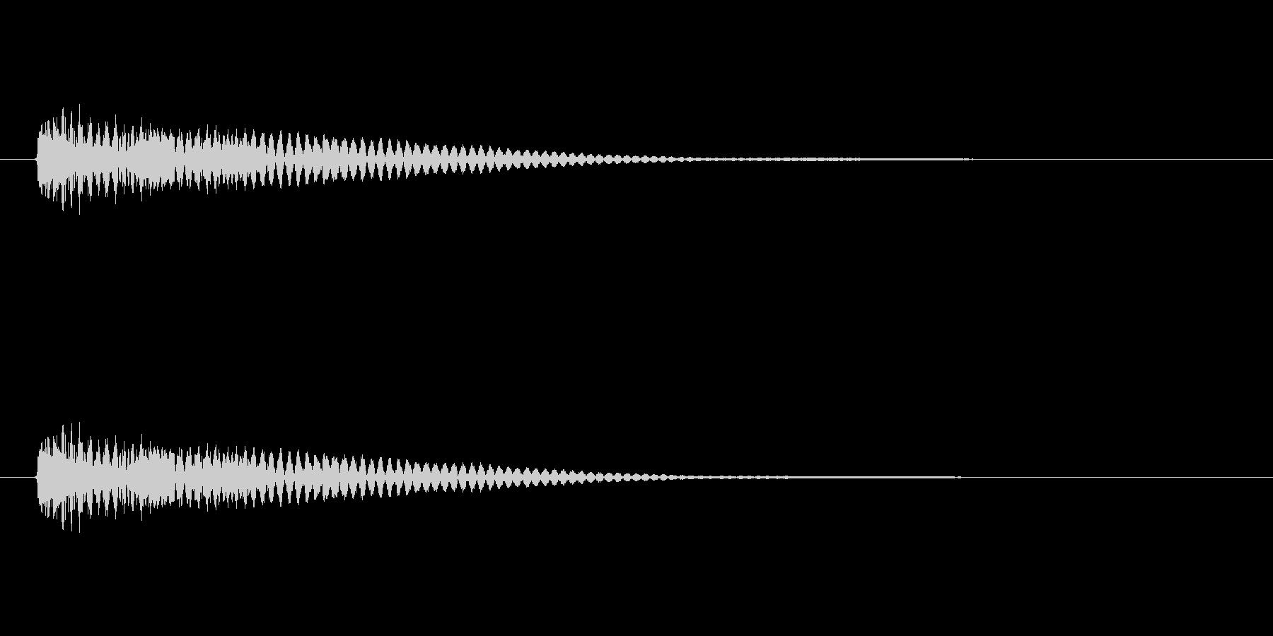 【ネガティブ09-1】の未再生の波形